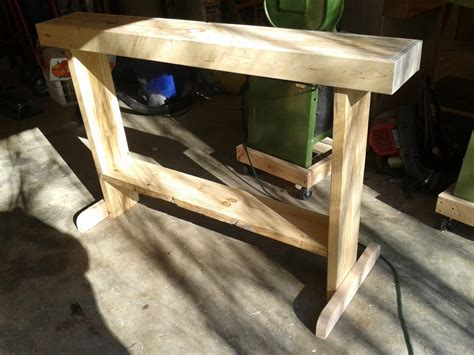 wood lathe stand   reclaimed lumber  busterb