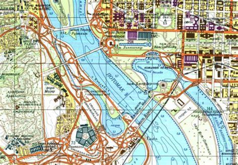 washington dc map new york ussr maps show likes of washington and new york daily