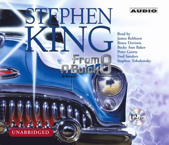 from a buick 8 a novel books from a buick 8 audiobook by stephen king rebhorn