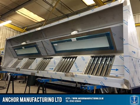 Kitchen Canopy Lights Sheffield Kitchen Canopy With Led Lighting Anchor Manufacturing Ltd
