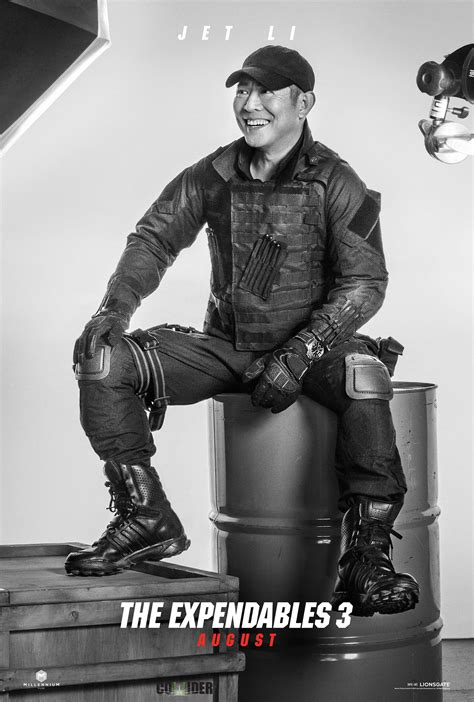 film jetli 16 new character posters for the expendables 3 we geek