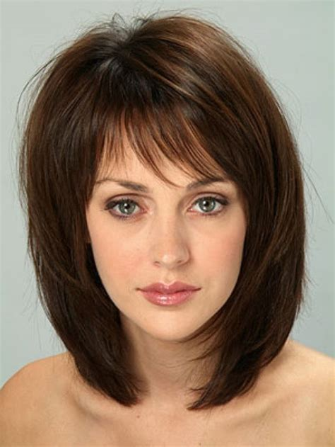 medium length hairstyles oval shapes layered medium hairstyles for all shapes hairjos