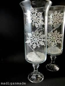 Hurricane Glass Vase Centerpieces 5 Easy Winter Centerpiece Ideas