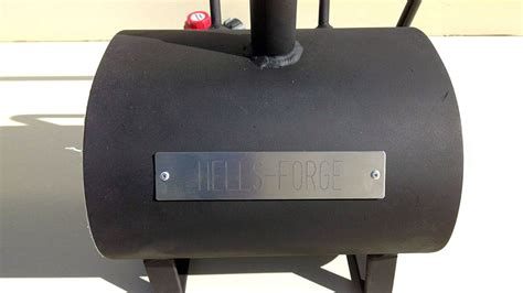 hells forge portable knife tool making forge