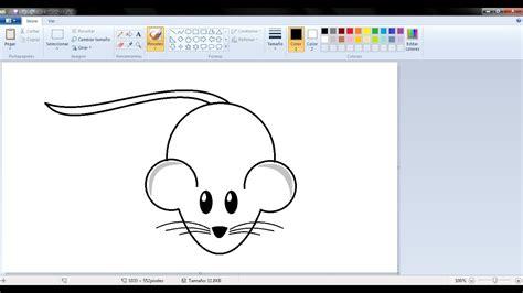 imagenes de navidad para dibujar en paint dibujos para ni 241 os c 243 mo dibujar un ratoncito con paint