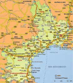 Map Of The South Of France by South Of France Map Grey