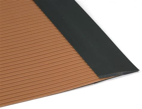 Rubber Floor Trim by Garage Floor Matting Edge Trim By American Floor Mats