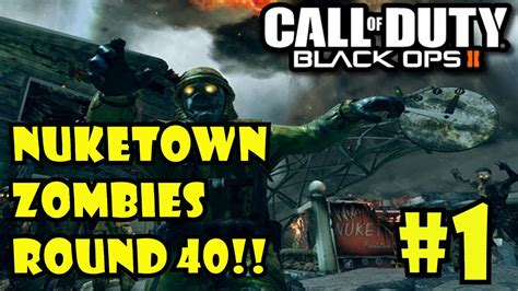Tutorial Zombies Bo2 | black ops 2 zombies live nuketown round 40 gameplay