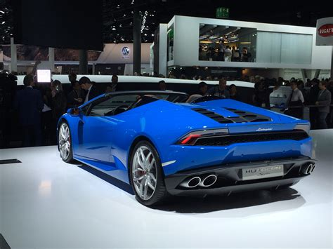 lincoln hypersport lamborghini huracan lp 610 4 spyder automotive rhythms