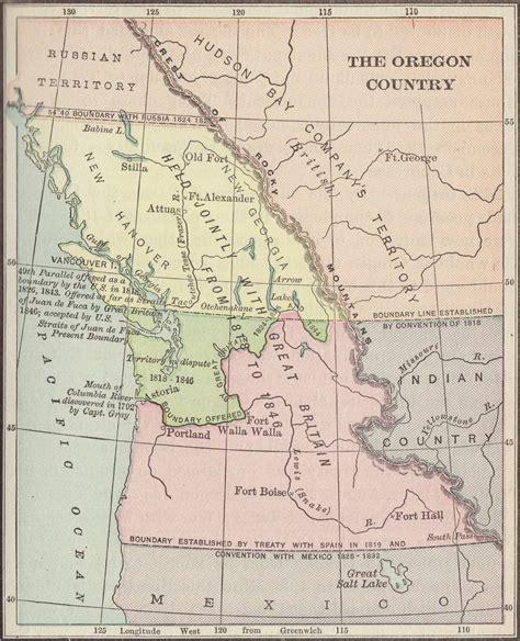 map of oregon territory map of oregon country swimnova