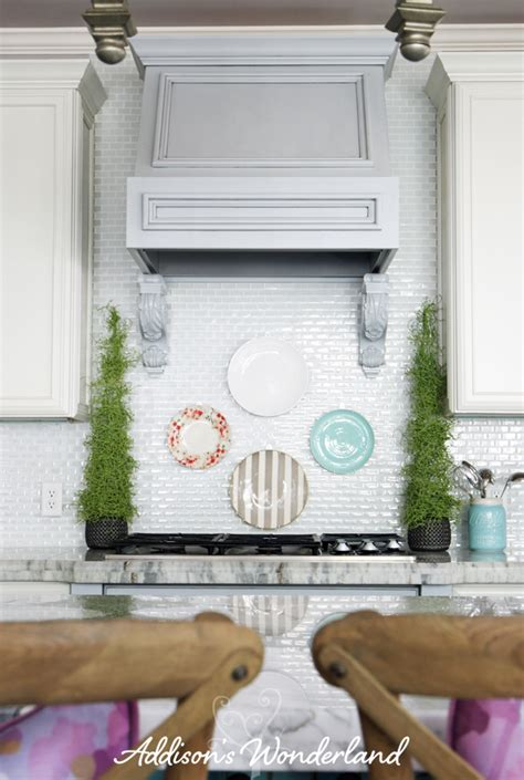 plates to hang on kitchen wall how to hang plates on kitchen backsplash 12 copy s