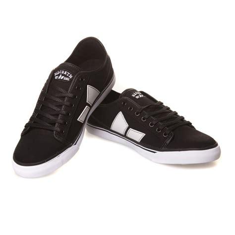 Macbeth Black macbeth shoes black white cavans synthetic leather bk buy fillow skate shop