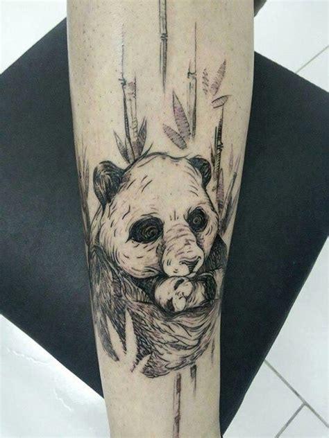 panda tattoo ink tattoo ink urso panda tattoo pinterest pandas ink