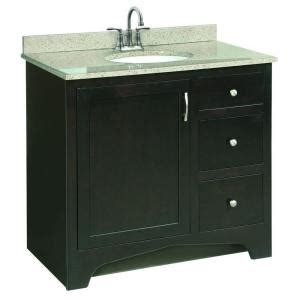 premade bathroom cabinets design house ventura 36 in w x 21 in d pre assembled