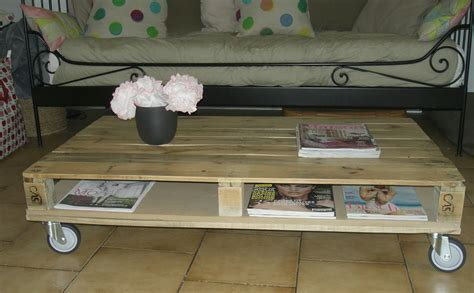 Transformer Palette En Table Basse gabulle in transformer une palette en table basse