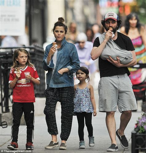 matthew rhys children keri russell slips into her skinny jeans just two weeks