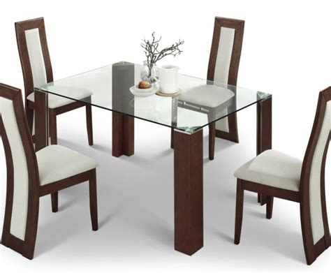 Glass Kitchen Table And Chair Sets Dining Tables Glass Dinette Sets Table With Chairs Dini On Kitchen Trend In Dining
