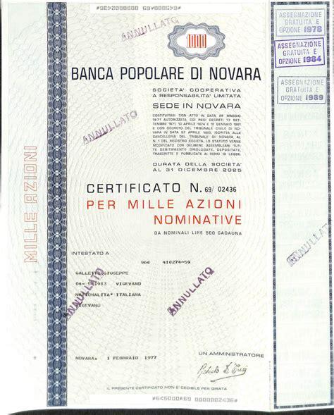 banco pop novara popolare di novara scripomuseum
