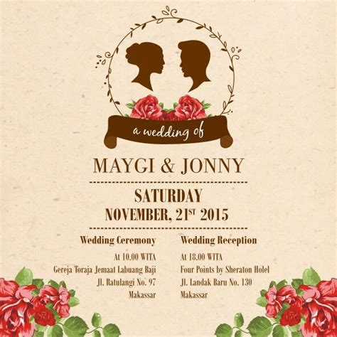 E Wedding Invitation