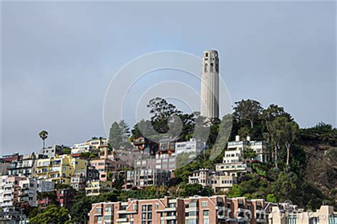 Knob Hill Sf by Knob Hill San Francisco California Stock Photo Image