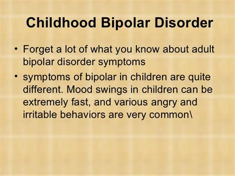 medication for mood swings and anger mood dis in children