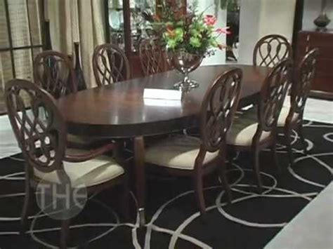 How To Make Dining Room Table spectacular dining room set bob mackie home signature