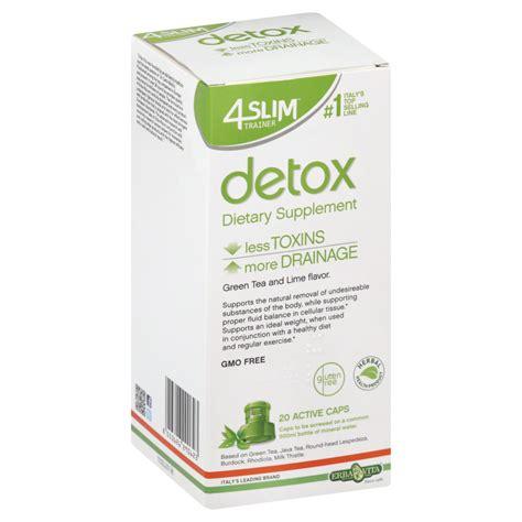 Vitamins To Take While Detoxing From by Erba Vita 4 Slim Trainer Detox 20 Capsules Health