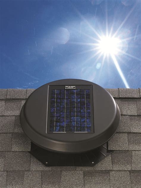 roof fan the perks of solar powered attic fans hgtv