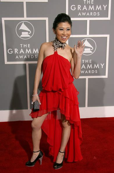 The 49th Annual Grammy Awards by Adrienne Lau In 49th Annual Grammy Awards Arrivals Zimbio