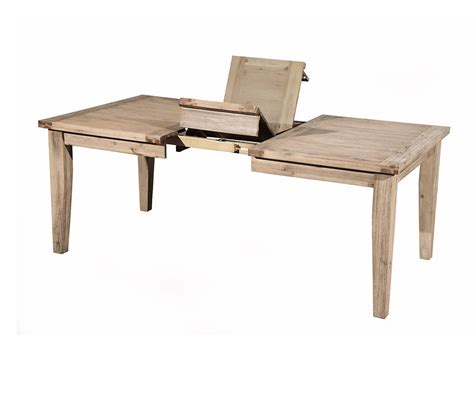 dreamfurniture aspen extension dining table with