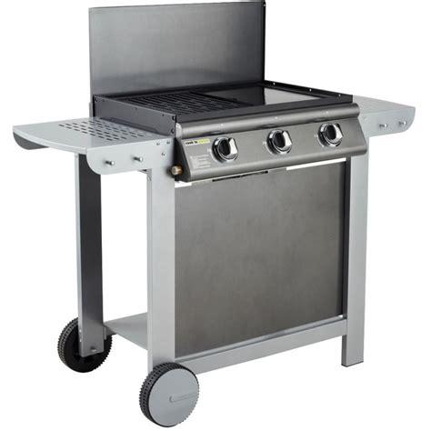 Barbecue Mixte Grill Et Plancha by Barbecue Gaz Mixte Plancha Et Grill 3 Br 251 Leurs Puerta