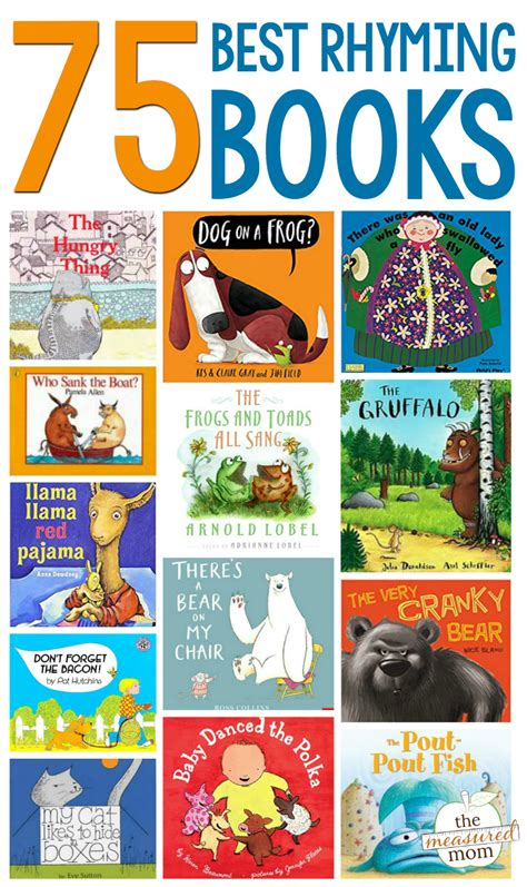 rhyming picture books the ultimate list of books that rhyme the measured