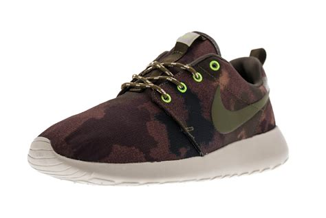 camo sneakers nike nike wmns roshe run forest camo sneakers addict