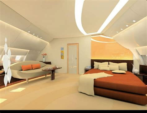 a380 bedroom 5 most luxurious private jets in the world