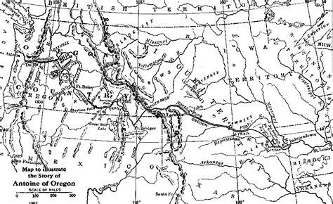 map of otis oregon heritage history antoine of oregon by otis