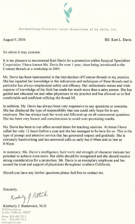 Letter Of Recommendation Ending plastic surgeon letters of recommendation