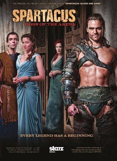 film seri gladiator spartacus gli dei dell arena serie tv 2011