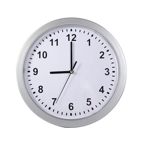 modern silver clock modern silver wall clock safe with secret