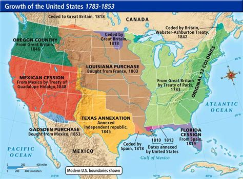 map of the united states during westward expansion online maps united states western expansion