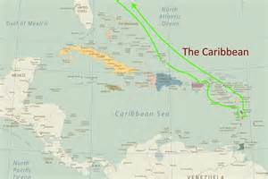 Caribbean Cruise Map by Gallery For Gt Carnival Caribbean Cruise Map