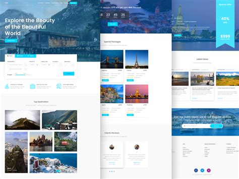 Top 10 Free Responsive Website Templates Of 2018 Html5 Responsive Templates Free