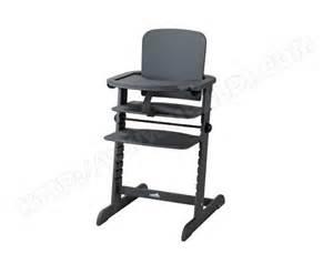 chaise haute 233 volutive geuther family gris paillette