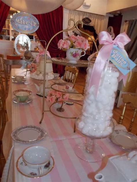 Spa And Tea Time Birthday Party   Birthday Party Ideas