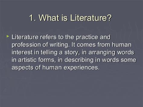 what is literature what is literature driverlayer search engine