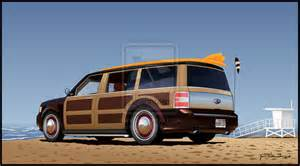 the gallery for gt custom woody ford flex