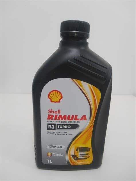 Oli Shell Rimula R3 Turbo 15w 40 5 Liter shell rimula r3 turbo 1 l 15w 40 sejahtera distributor oli shell helix distributor oli
