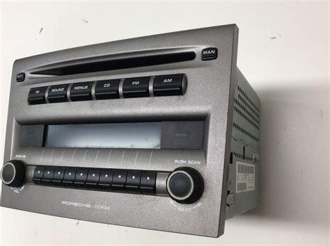 porsche stereo 2006 porsche cayman boxster radio stereo cd player unit