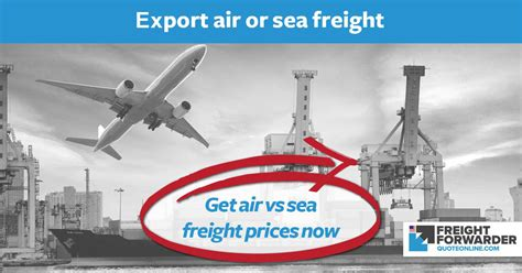air freight quote sea freight quote export  calculator