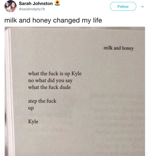 milk and vine ii books step up kyle quot milk and honey quot parodies your meme