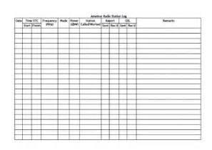 logbook template radio logbook d i y planner